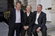 Mark Derry, James Horler and Robin Rowland