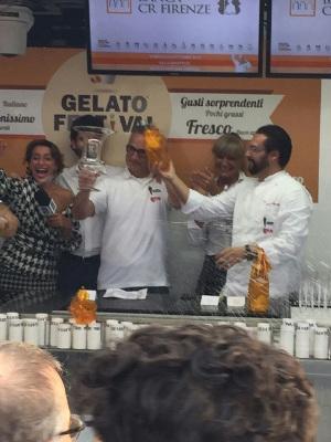 "La Dolce Vita"" proclaimed best new Gelato flavour 08.10.15"