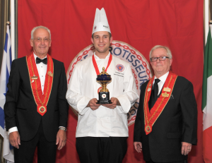 Christoph Eckert, Chaine des Rotisseurs International Young Chef Winner
