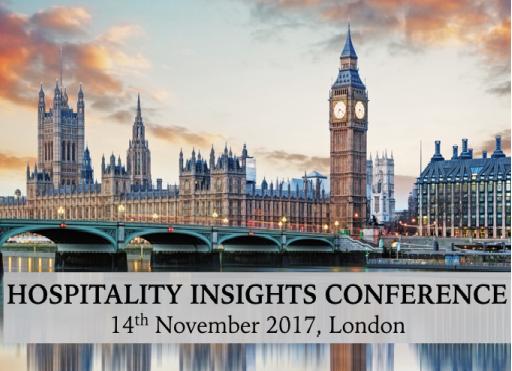 Hospitality Insights Conference – 14th November