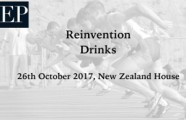 Reinvention Drinks Reception – 26th October 2017