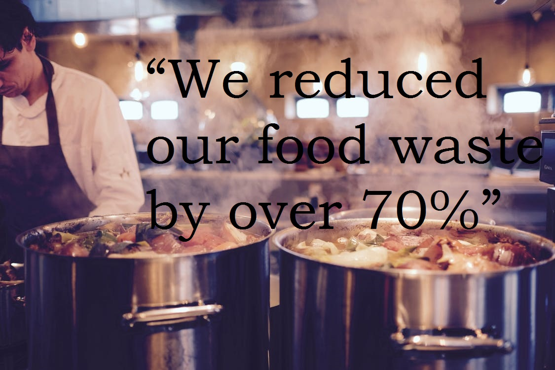 "VIDEO: ""We reduced our food waste by over 70%"""