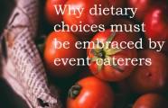 Do event caterers love Vegans?
