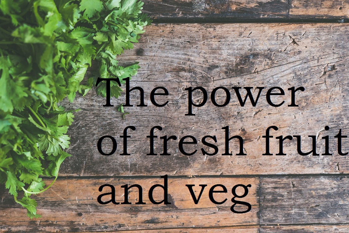 The power of fresh fruit and veg – The Foodservice Forum 2018