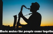 Music makes the people come together