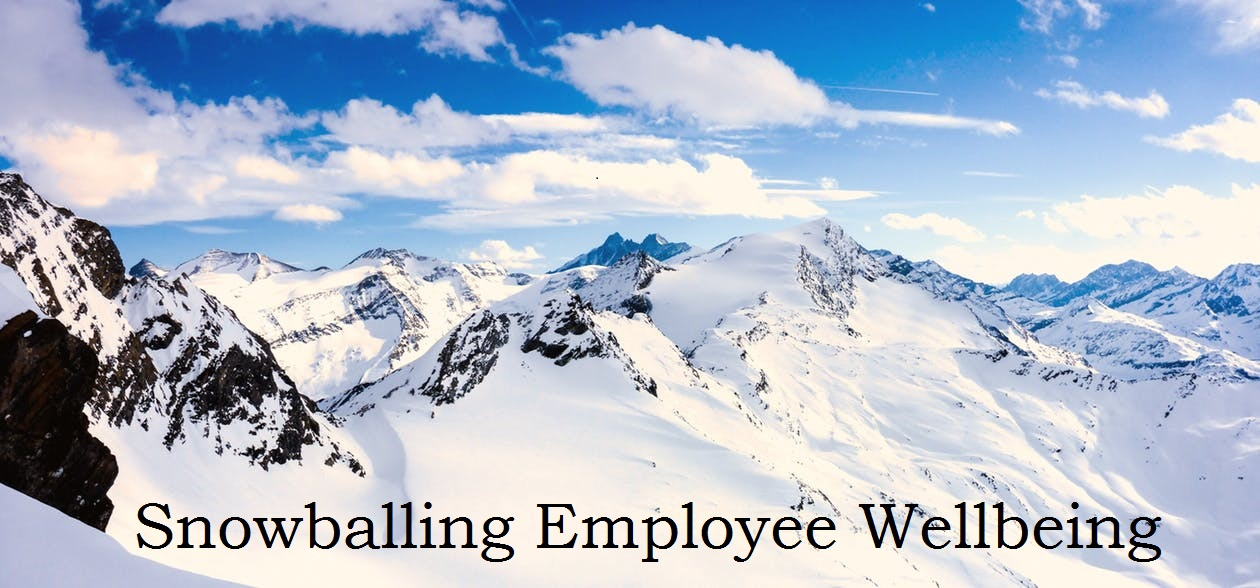 Snowballing employee wellbeing
