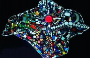 The artist who is turning plastic waste into art